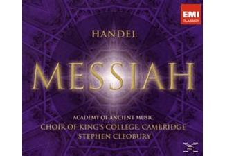 King's College Choir/Cleobury, King's College Choir, Cambridge/Cleobury, Stephen - Messiah [CD]