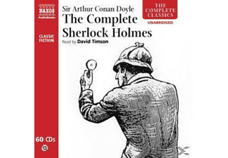 THE COMPLETE SHERLOCK HOLMES - 60 CD -