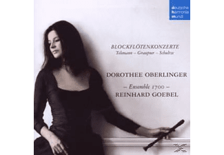 Dorothee Oberlinger, R. Goebel, Ensemble 1700 - Blockfl?tenkonzerte [CD]