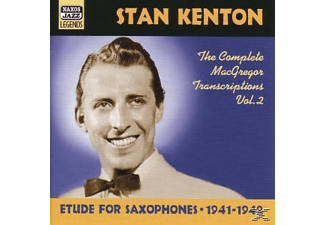 Stan Kenton - Etude For Saxophones - (CD)