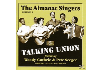 The Almanac Singers, Woody Guthrie, Pete Seeger - Talking Union - (CD)