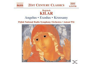 Wojciech Kilar, Wit/Papian/Cracow PC/Pnrso - Angelus/Exodus/Krzesany - (CD)