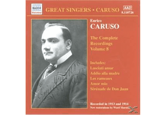 Enrico Caruso - Complete Recordings Vol.8 - (CD)