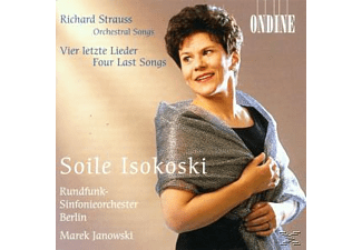 Soile/rsb/janowski Isokoski - Orchestral Songs/Vier Letzte Lieder - (CD)