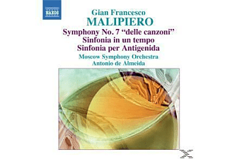 Malipiero, Antonio De & Moskau So Almeida - Sinfonie 7/+ - (CD)