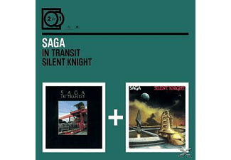 Saga - 2 For 1: In Transit/Silent Knight [CD]