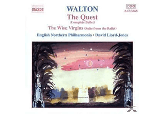 David Lloyd-jones, Enp, David/enp Lloyd-jones - The Quest/Wise Virgins - (CD)