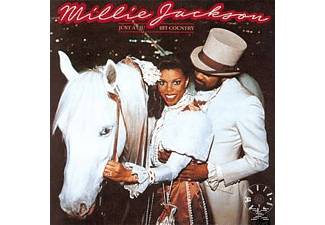 Millie Jackson - JUST A LIL' BIT COUNTRY - (CD)