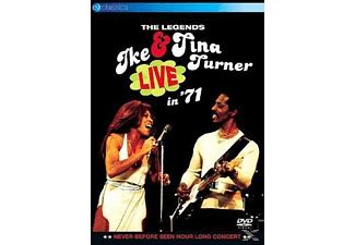 Tina Turner, Ike Turner - The Legends Live In '71 [DVD]