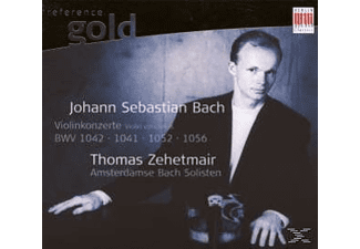 Thomas Zehetmair, Thomas/Amsterd.Bach Soloists Zehetmair - Violinkonzerte 1, 2, D+G-Moll - (CD)