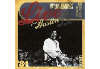 Waylon Jennings - Live From Austin, Tx - (CD + DVD Video)
