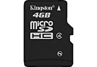 KINGSTON microSDHC 4GB - (SDC4/4GB)