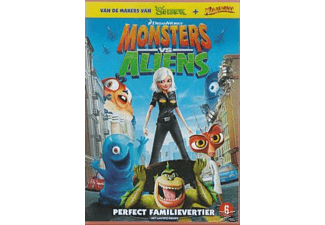 Monsters Vs. Aliens | DVD