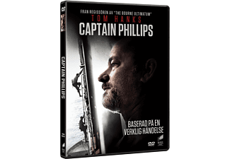 Captain Phillips Drama DVD