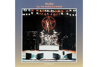 Rush - All The World's A Stage (CD)