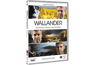 Wallander BBC volym 2 Thriller DVD
