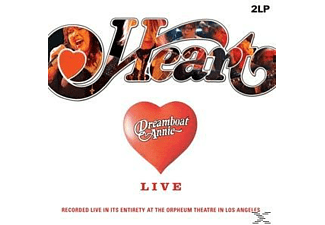 Heart - Dreamboat Annie-Live - (Vinyl)