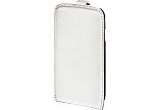 HAMA 124664 Flap-Tasche Smart-Case, Flip Cover, Galaxy S5 Neo, Weiß