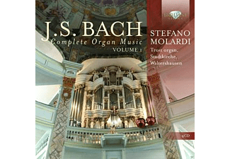 Stefano Molardi - J.S. Bach: Complete Organ Music Vol.1 - (CD)