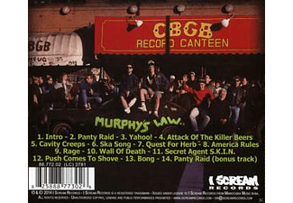 Murphys Law - Back With A Bong! [CD]
