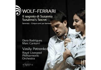 Various, Dora Rodrigues, Marc Canturri - Wolf-Ferrari: Susanna's Secret - (CD)