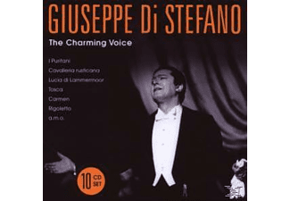 Guiseppe Di Stefano, Giuseppe Di Stefano - The Charming Voice [CD]
