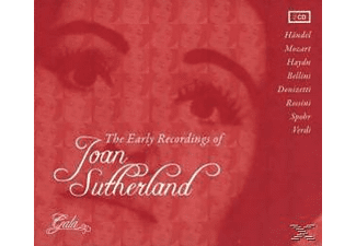 Joan Sutherland - The Early Recordings Of - (CD)
