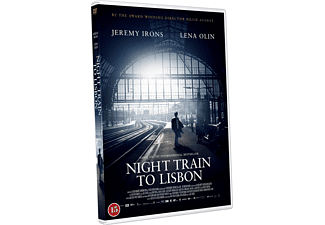 Night Train to Lisbon Thriller DVD