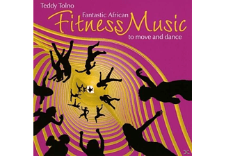 Teddy Tolno - Fantastic African Fitness Music [CD]