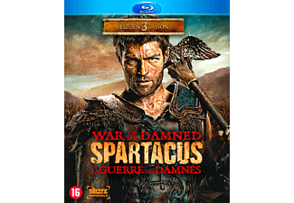 Spartacus Seizoen 3 - War of the Damned Blu-ray