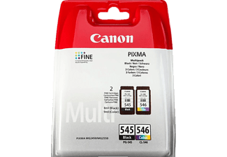 canon pg 545 cl 546 noir cyan magenta jaune 8287b006 cartouche d 39 encre toner. Black Bedroom Furniture Sets. Home Design Ideas