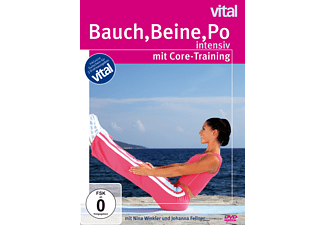 vital - Bauch, Beine, Po intensiv mit Core-Training - (DVD)