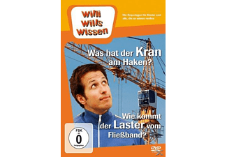 WAS HAT DER KRAN AM HAKEN?/LASTKRAFTWAGEN - (DVD)