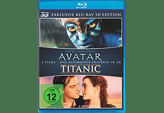 Avatar & Titanic (3D, Media Markt Exklusiv) [3D Blu-ray]