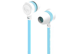 ILUV Neon Sound iEP336 White/ Blue