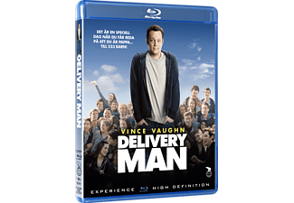 The Delivery Man Komedi Blu-ray