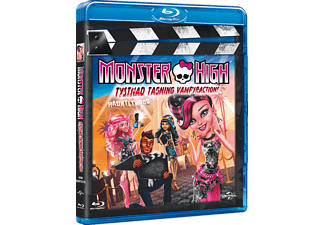 Monster High: Tystnad, Tagning, Vampyraction! Animation / Tecknat Blu-ray