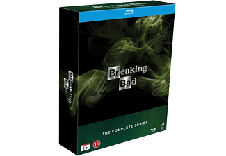 Breaking Bad Alla 5 Säsonger Drama Blu-ray