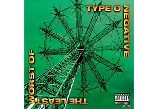 Type 0 Negative - THE LEAST WORST OF [Vinyl]
