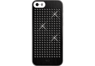 WHITE DIAMONDS Rock Backcover Apple iPhone 5, iPhone 5s, iPhone SE Kunststoff Schwarz