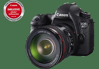 canon eos 6d spiegelreflexkameras inkl objektiv 24 105 mm 20 2 megapixel mediamarkt. Black Bedroom Furniture Sets. Home Design Ideas