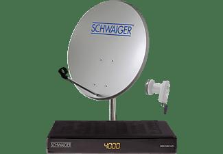 schwaiger sat1591hd satellitenanlagen single media markt. Black Bedroom Furniture Sets. Home Design Ideas