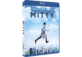Secret Life of Walter Mitty Dramakomedi Blu-ray