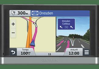 GARMIN nüvi 2548LMT-D, KFZ Navigationsgerät, 5 Zoll, Kartenmaterial Zentraleuropa, 22 Länder, Micro-SD Slot, inkl. Lifetime card updates