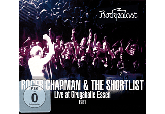 Roger Chapman & The Shortlist - Live At Grugahalle Essen 1981/Live At Rockpalast - (DVD + CD)