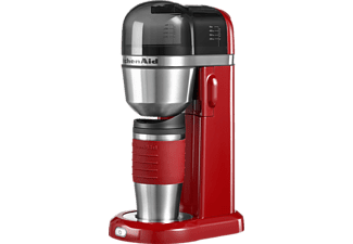 kitchenaid 5kcm0402eer kaffeemaschine mit thermobecher mit 540 ml fassungsverm gen in empirerot. Black Bedroom Furniture Sets. Home Design Ideas