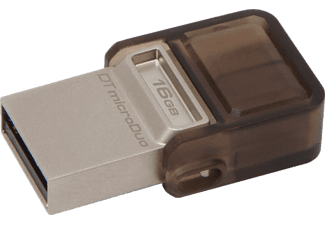 KINGSTON 16 GB Data Traveler MicroDuo USB 2.0 micro USB Bellek OTG DTDUO/16GB