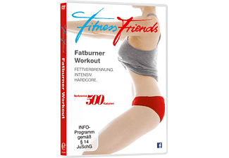 Fitness Friends-Fatburner Workout - (DVD)