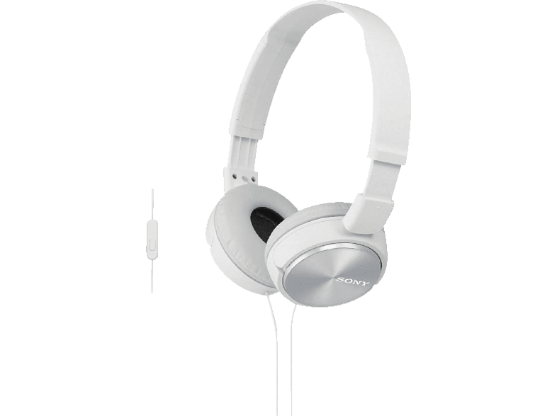 SONY MDR-ZX310AP White αξεσουάρ ακουστικά computing   tablets   offline ηχεία  headsets  webcams headse