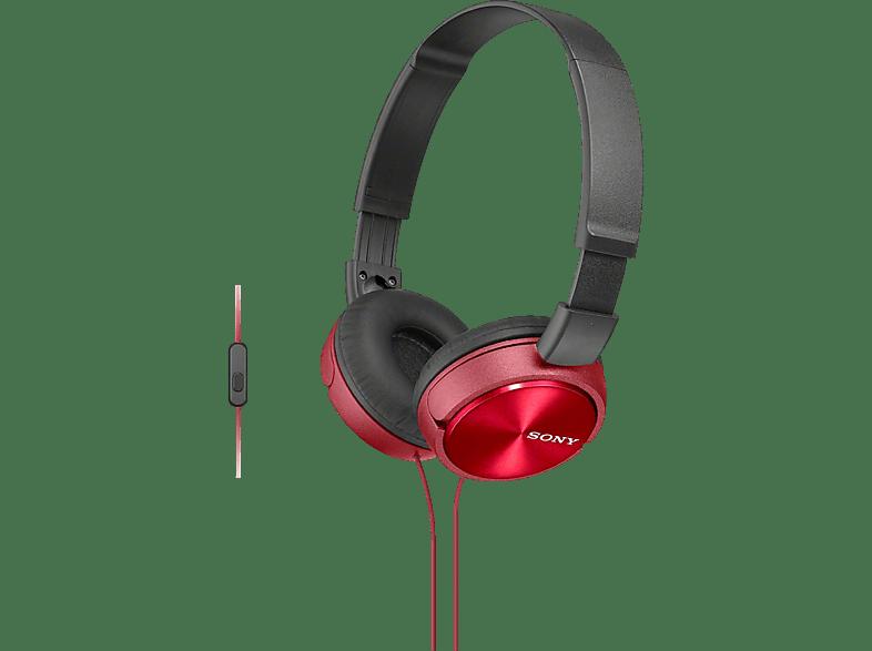 SONY MDR-ZX310AP Red hobby   φωτογραφία ακουστικά   deactivated ακουστικά headphones   deactivated αξ